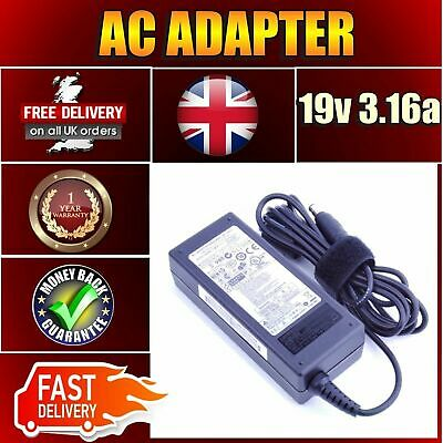 New Samsung Original Charger CPA09-004A AC Adapter 19V 3.16A 60W AD-6019R