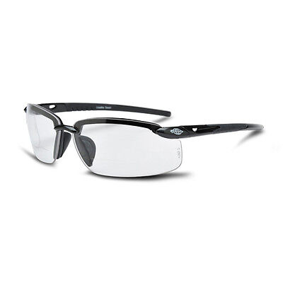 Crossfire 296420 ES5 2.0 Clear Lens Bifocal Reading Magnifier Safety Glasses