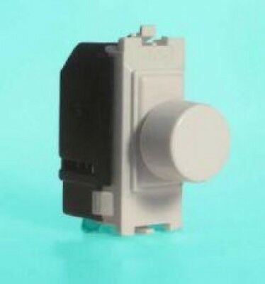 Varilight GP400W 2-Way Push-On/Off Rotary Dimmer 60-400W (1 Grid Space)