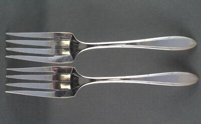 TWO Nobilty Plate Reverie Salad Forks 2 (two sets of two available)