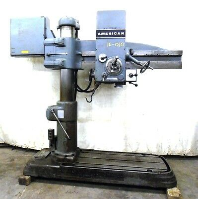 """1960 The American Tool Works Co. 4' X 9"""" Column Radial Drill, Model 2709478"""