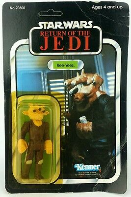 Vintage Star Wars ☆ REE-YEES Action Figure ☆ 1983 ROTJ MOC Unpunched carded