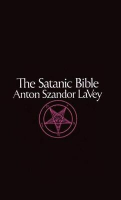 NEW The Satanic Bible By As Lavey Paperback Free Shipping