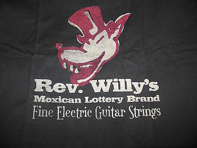 Dunlop Rev Willy's Mexican Lottery T-Shirt size Medium NEW!!
