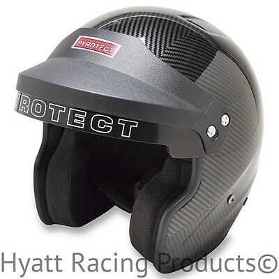 Pyrotect ProSport Open Face Auto Racing Helmet SA2015 - All Sizes & Colors