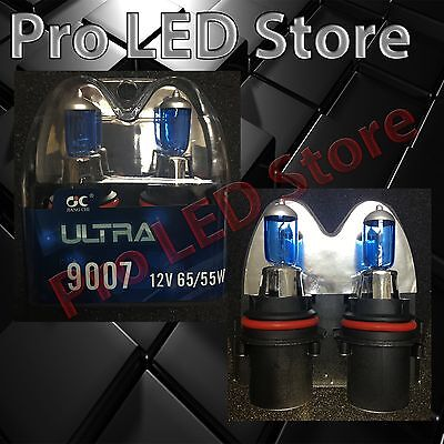 9007 HB5 Xenon 5000K White Headlight Lamp Bulb 55W