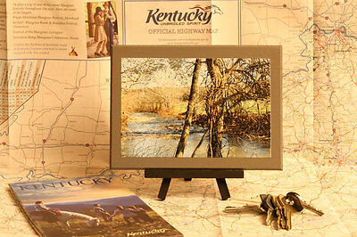 Meandering Creek Through The Kentucky Country Side Wall Art Home Decor Handmade