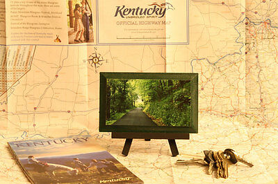Old Kentucky Country Road Winding Through The Bluegrass Wall Art Rural America