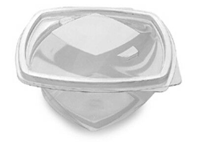 Twisty Pots 500cc (400) Clear Plastic Disposable Salad Packaging, catering
