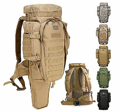 Tactical Molle Backpack, Bergen / Long Gun or Sniper Rifle concealing Rucksack