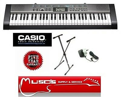 CTK1300 Casio CTK-1300 Adaptor & Stand $179 + Postage ($10 for Greater Sydney)