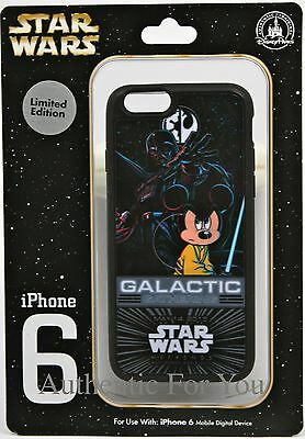 Disney 2015 Star Wars Galactic Gathering Exclusive iPhone 6 Case Mickey Darth 6s