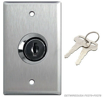 Wall Key On Off Lock Switch Home 110 115 Electrical Toggle Lockout Outlet Cover
