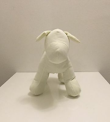 Moridoll Cloth Dog Mannequin Retail Display White New