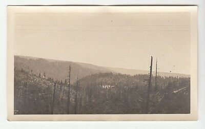 [J58124] 1916 Photograph California Mountains From Southern Pacific Railroad