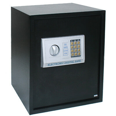 54L Digital Steel Safe Electronic Security Home Office Money Cash Safety Box