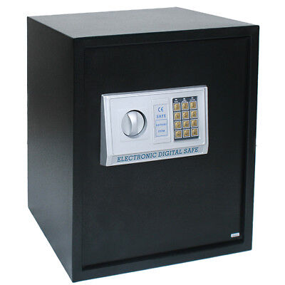 Digital Steel Safe Electronic Security Home Office Money Cash Safety Box