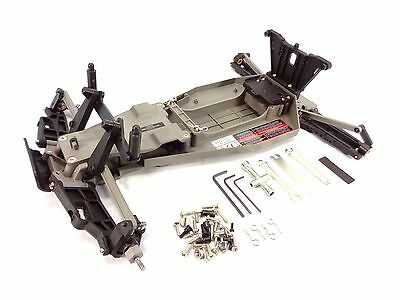 New Traxxas Rustler Xl-5 Complete Chassis Kit Roller Arms Towers Main Frame 3705
