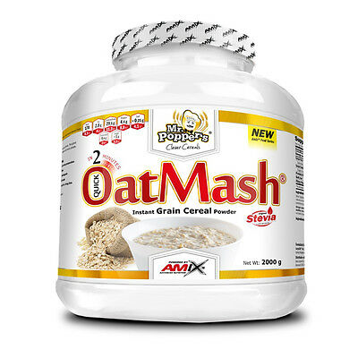 Oatmash 2 Kg Sabor Doble Chocolate Harina De Avena Amix Nutrition