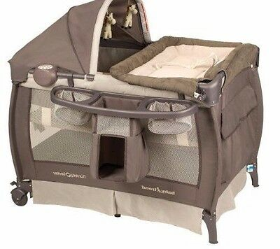 Pack N Play Baby Trend Nursery Center Music Vibration Full Bassinet