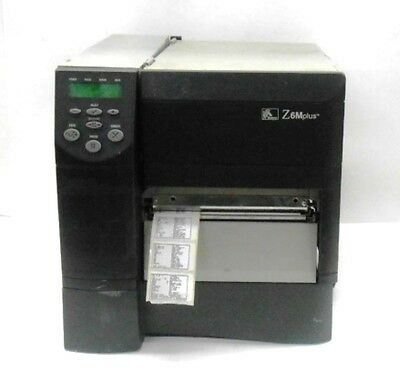Zebra Thermal Transfer Barcode Label Printer Z6M00-3001-1000