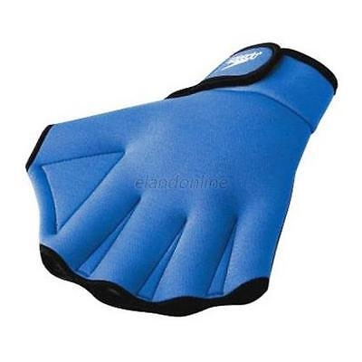 Paddle Gloves Webbed Fingerless Swimming Surfing Swim  E67