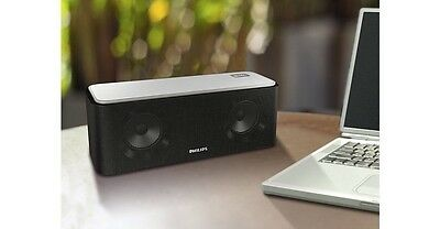 Philips SB365 Portable Wireless Bluetooth Speaker w/ NFC,USB Charging,3.5 Aux-In