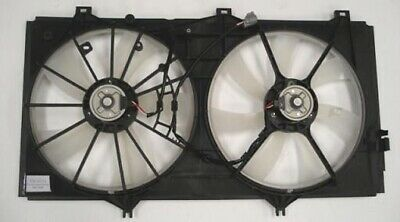 TYC Dual Radiator and Condenser Fan Assembly for 2007-2011 Toyota Camry 3.5L hl