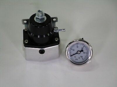 EFI Fuel Pressure Regulator and 0-100 psi Gauge - Top Street Performance
