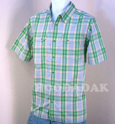 XL  NWT  The North Face Men's Plaid  Outdoor shirts  Short sleeve