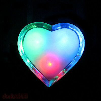Heart Shaped Wall Nightlights LED Night Light Romantic Home Decor Lamp Light