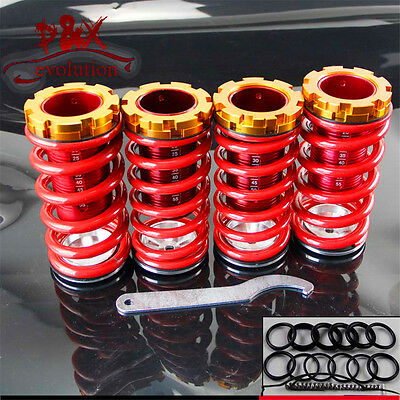 For Honda Civic 88-00 Aluminum Scaled Lowering Suspension Coilover Coil Springs
