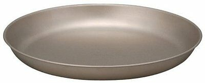 Snow peak Titanium Trek Plate Tableware Camping Dish 18cm STW-002T New Japan