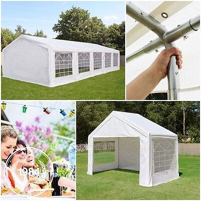 Perfect 3x2-6x12m Gazebo Marquee STRONG tarpaulin for your Wedding / Party Tent