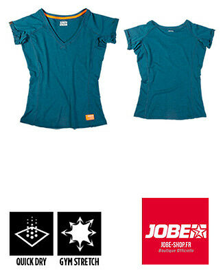 Tee-shirt sport Discover T-shirt Women Teal - Jobe - confort - stretch- SUP