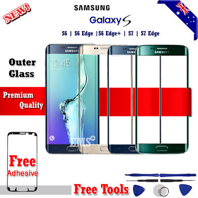 Outer Front Glass Screen Replacement For Samsung Galaxy S6 Edge | S7 S7 Edge