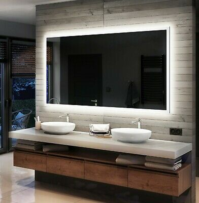 LED Illuminated Bathroom Mirror L01 To Measure Custom Size