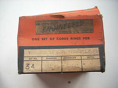 VAUXHALL VELOX LIP 1948-52 piston ring set +040