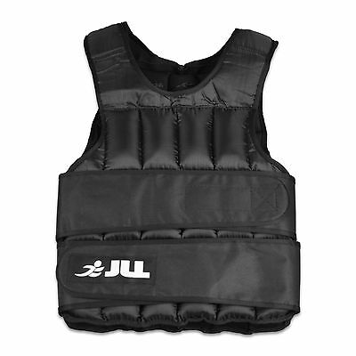 JLL® Weight Vest Strength Training - Available in 10kg, 15kg, 20kg, 25kg, 30kg