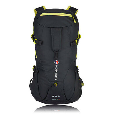 Montane Cobra Yellow Black Outdoor Trekking Hiking Sport Rucksack Backpack 25L
