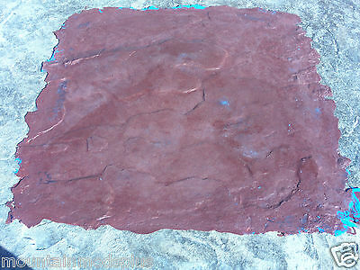 4 Slate Seamless Texture Stamp Mat Skin 3' Concrete Cement Stamping Tools NEW