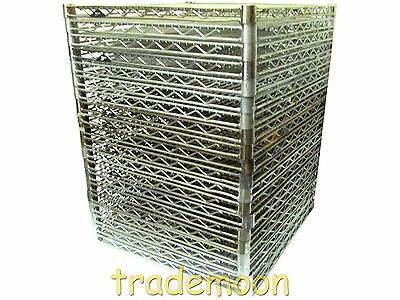 2424NC LOT20 Lot of 20 Metro 24x24 In. Super Erecta Wire Shelving