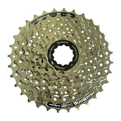New Shimano CS-HG41 8-Speed Acera Cassette 11-30T or 11-32T