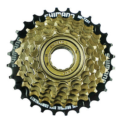 Shimano MF-TZ21 Mulitple 7 Speed Freewheel 14-28T SCREW ON TYPE