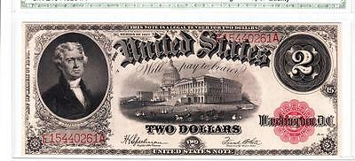 Fr. 60 1917 $2 LEGAL TENDER SUPERB ORIGINAL GEM UNCIRCULATED-WOW!