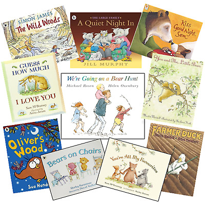 We're Going on a Bear Hunt Guess How Much I Love You 10 Story Book Collection