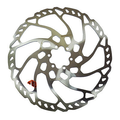 New Shimano Deore RT66 6-Bolt Disc Rotor 160,180,203mm W/6 Bolts & 3 Washers