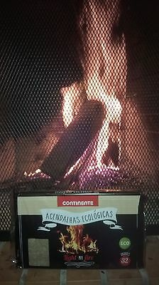 Pack of 32 cubes Fireplace Firelighters!Free Shipping!Environmentally Friendly