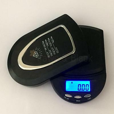 Electronic Digital Pocket Weighing Scale LCD Display 100 x 0.01g gram 500 x 0.1g