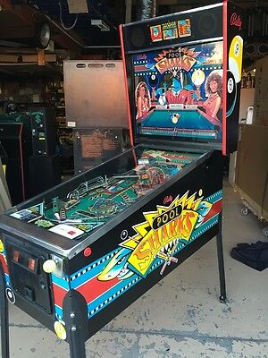 Pool Shark Pinball Machine